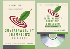 Cover: The Sustainability Champion's Guidebook